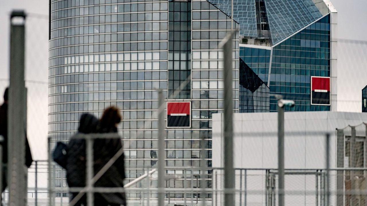Société Générale et Natixis ont fini le premier trimestre 2020 dans le rouge.
