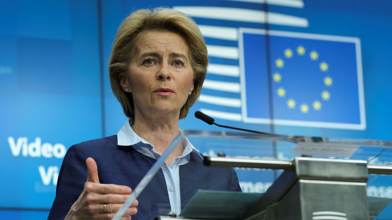 La présidente de la Commission européenne, Ursula von der Leyen, menace l'Allemagne de poursuites après la décision de la cour de Karlsruhe.