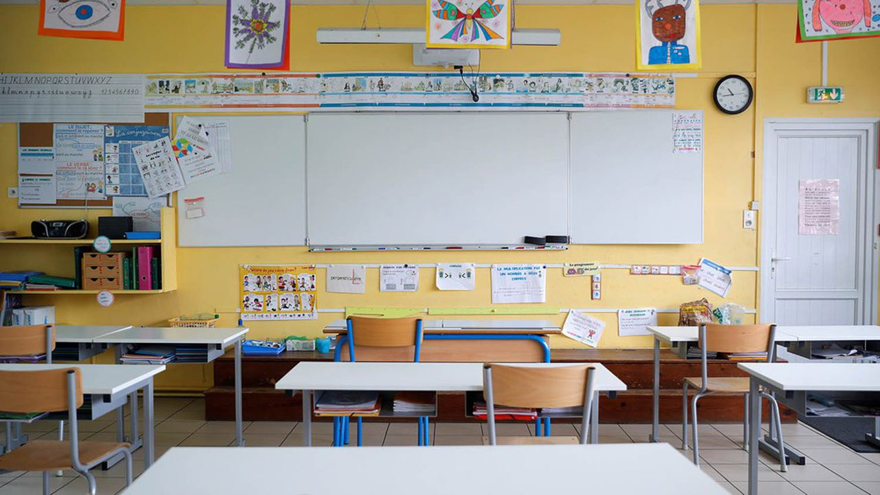 Environ 22% des élèves retourneront en classe à partir de mardi.