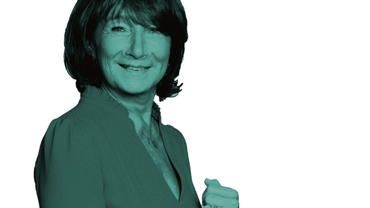 Bibiane Godfroid est à la tête de la société de production Newen, appartenant à TF1.