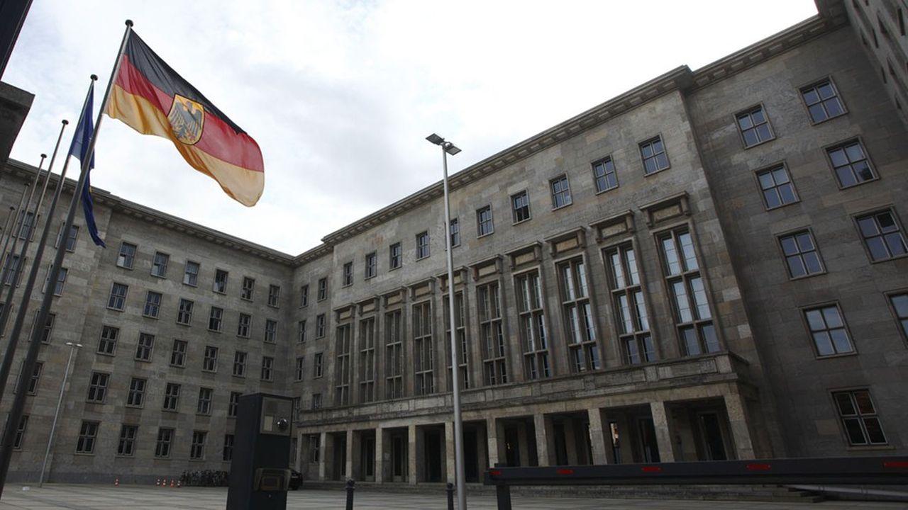 Le ministère allemand des Finances, à Berlin