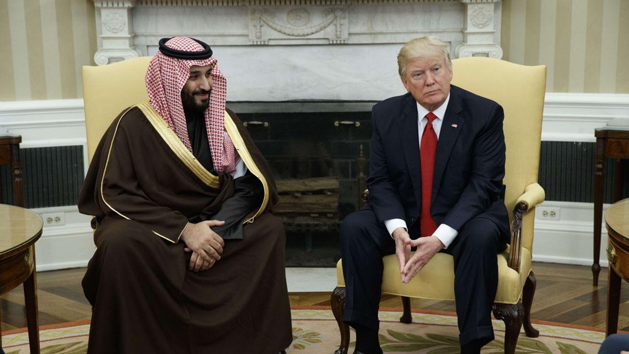 En décidant un retrait de batteries de défense antiaérienne d'Arabie saoudite, le président Donald Trump aurait voulu punir son «ami» le prince héritier Mohammed ben Salmane.