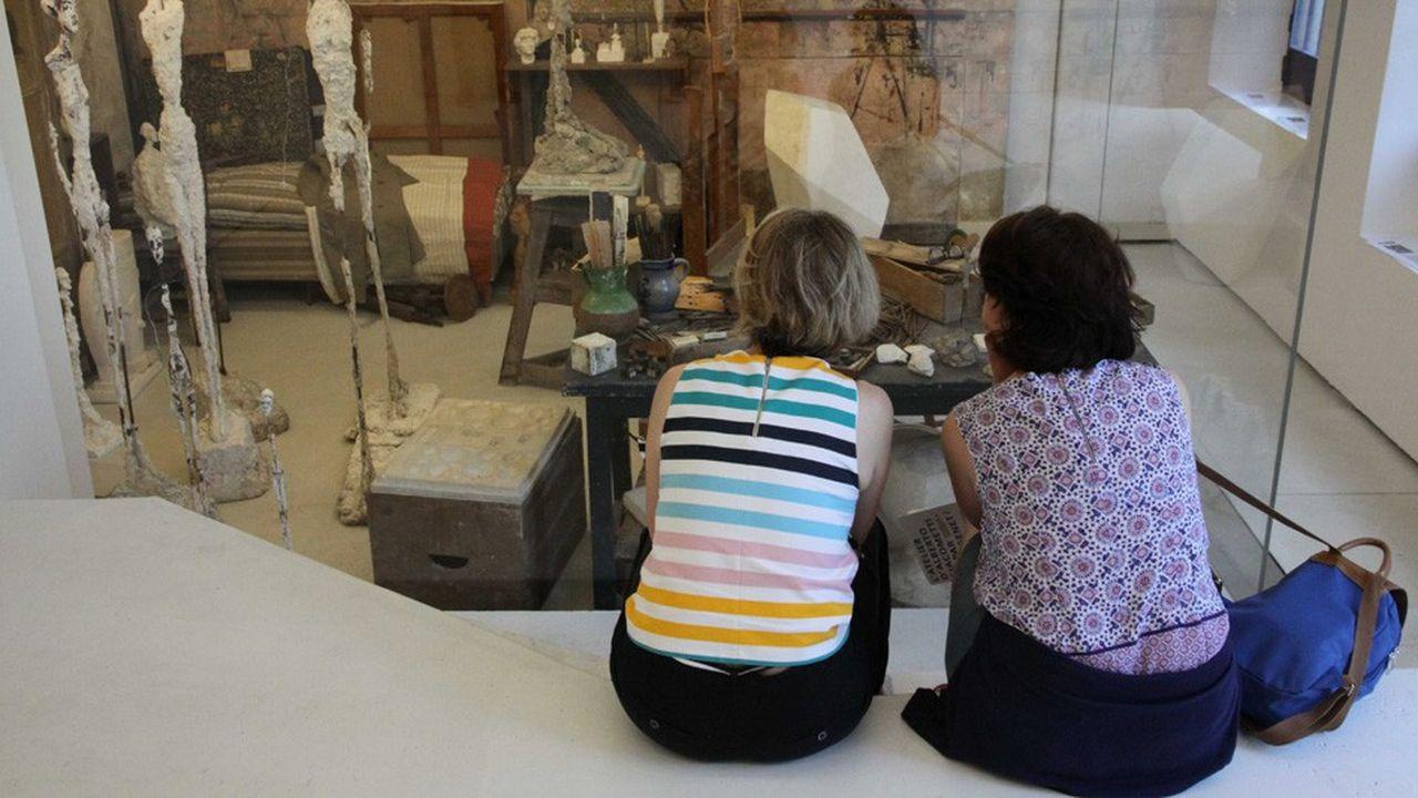 Plusieurs musées, comme l'Institut Giacometti à Paris, ont décidé d'ouvrir leurs portes dès le 11mai.