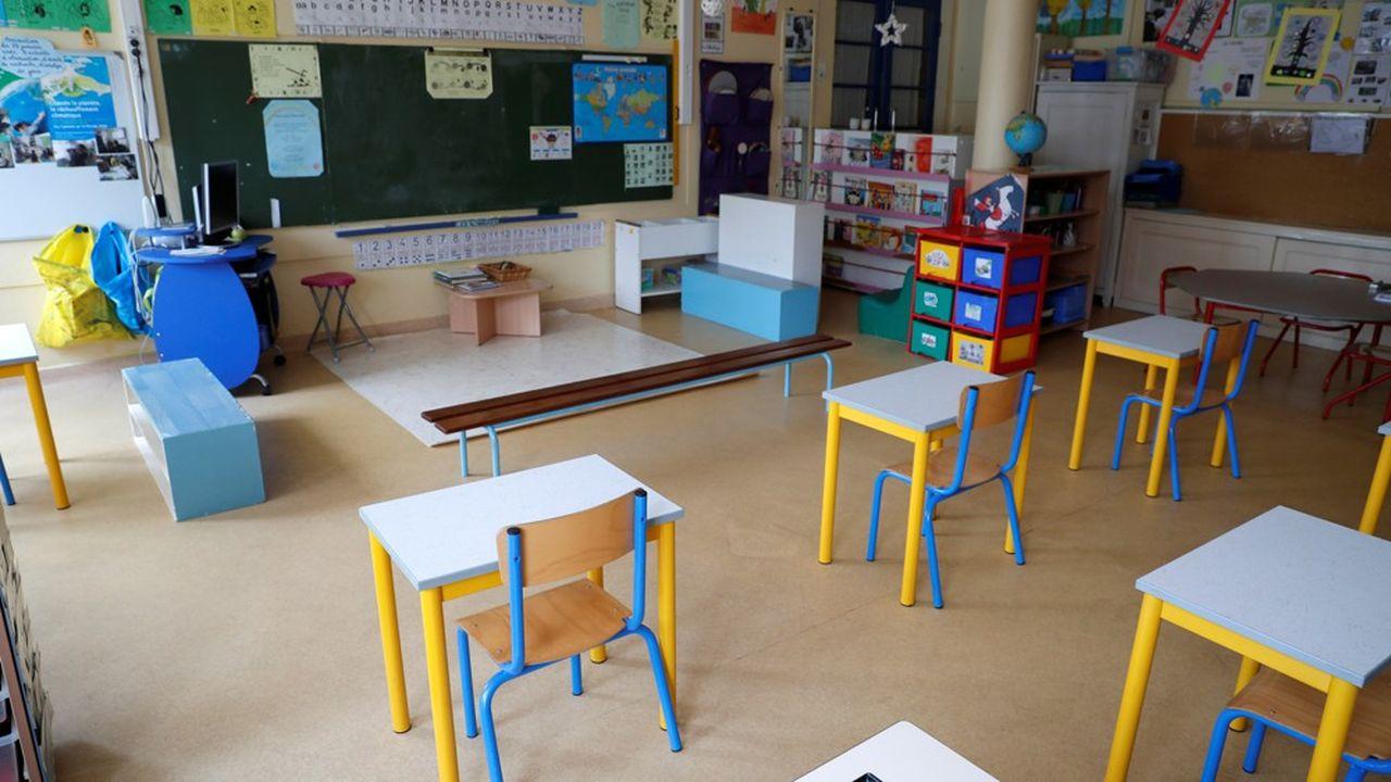 A partir de mardi, seuls 22% des élèves reprendront le chemin de l'école.