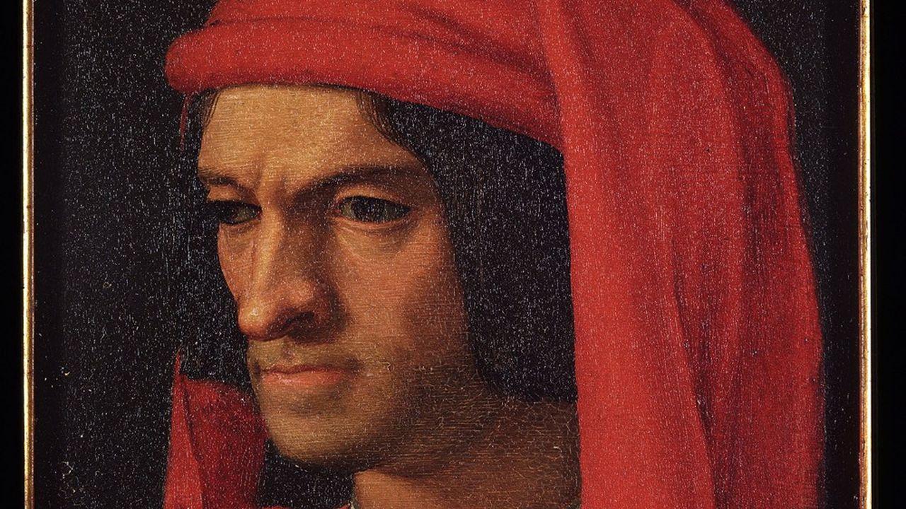 Portrait de Laurent de Medicis (1449-1492)- Peinture d'Agnolo Allori dit le Bronzino (1503-1572)