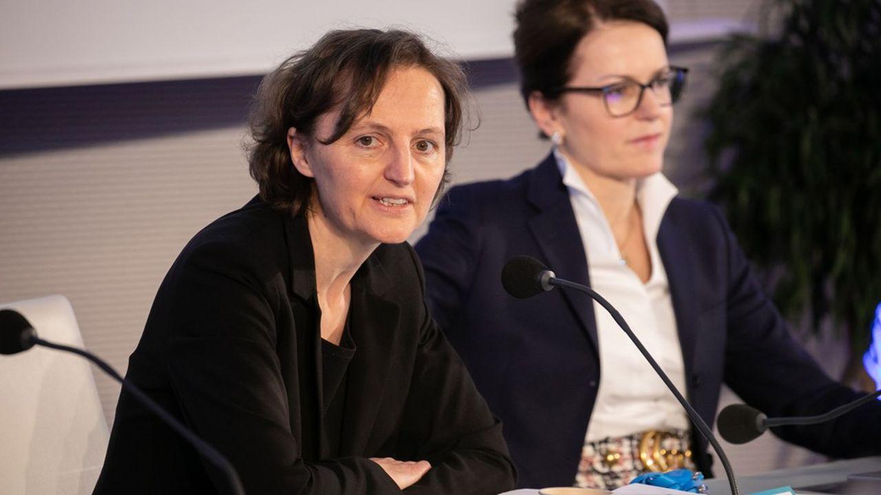 Depuis l'éviction d'Isabelle Kocher en début d'année, Engie est provisoirement dirigé par Claire Waysand (à gauche), directrice générale par intérim.