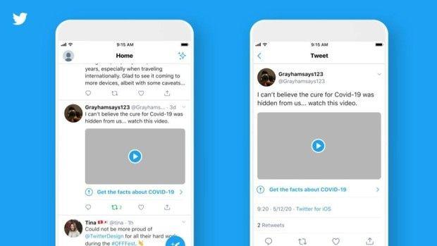 Twitter va apposer des labels et des avertissements sur les tweets contenant des «fake news».