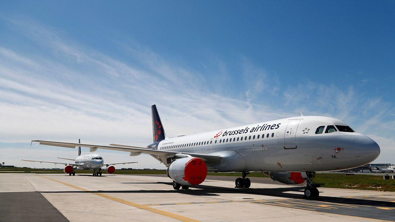 Les 58 appareils de Brussel Airlines sont tous cloués au sol depuis fin mars.