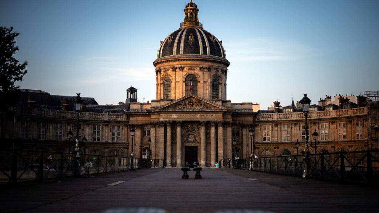 L'Institut de France, siège de l'Académie française, où les sages se sont penchés sur le genre du terme Covid.