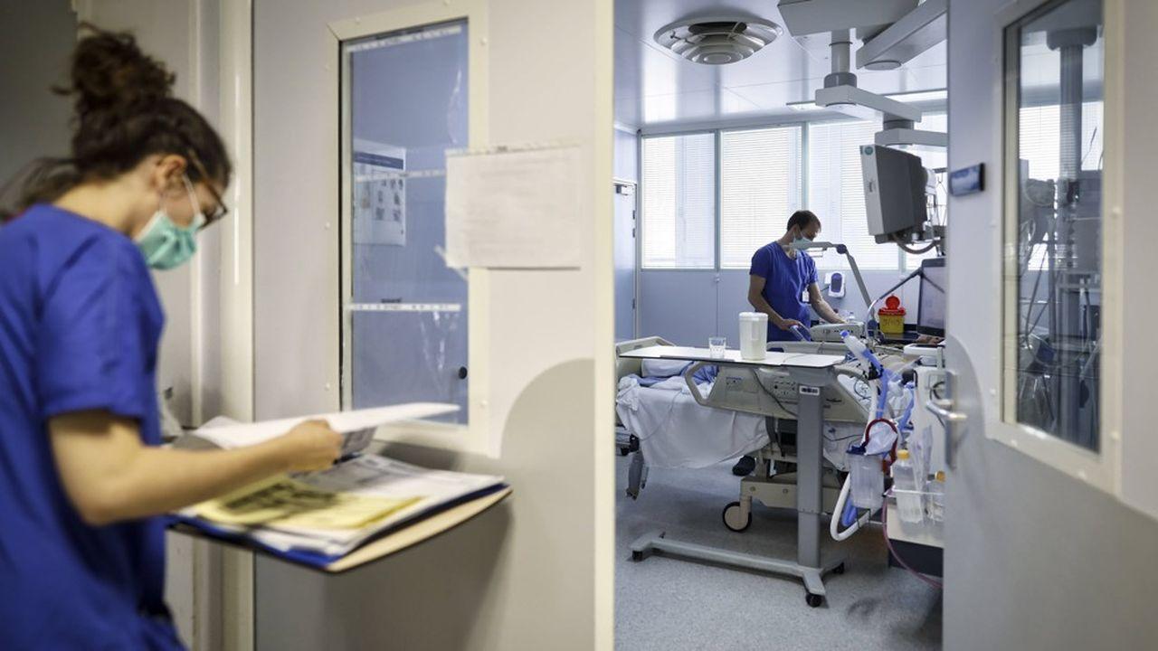 Le service de réanimation et de soins intensifs du CHU de Bordeaux.