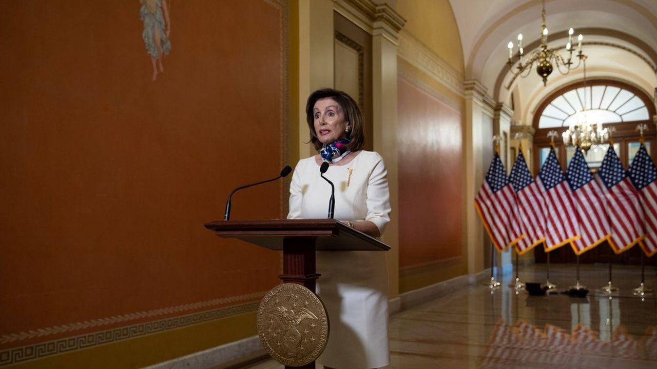 Le texte ne fait pas, non plus, l'unanimité chez les démocrates. Nancy Pelosi est appelée à revoir sa copie.