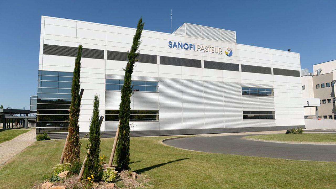 La construction de la nouvelle unité de production de vaccins de Sanofi à Neuville-sur-Saône a pris cinq ans et coûté 350millions d'euros
