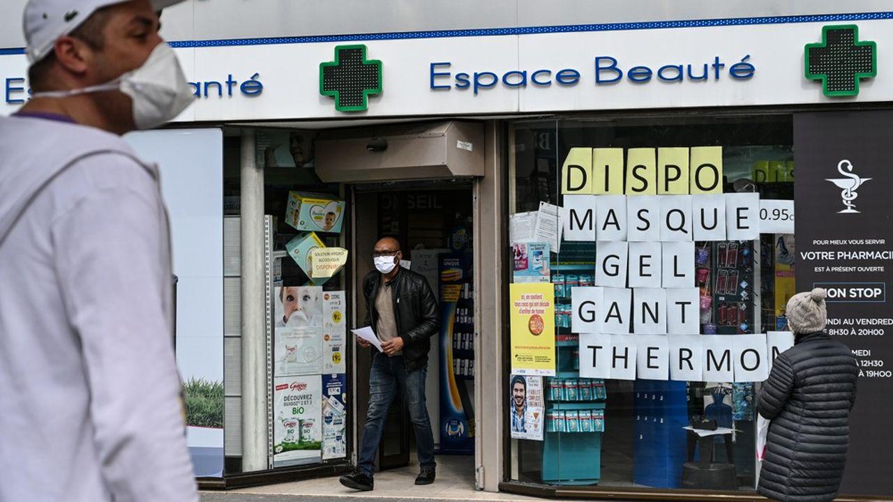 Pour les 21.000 pharmacies françaises, le printemps a été rude.