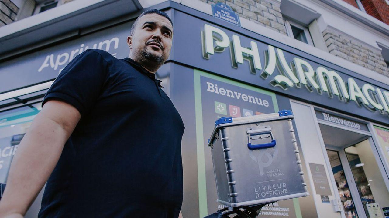 Pharmactiv étend son écosystème numérique à la livraison avec Minute Pharma.