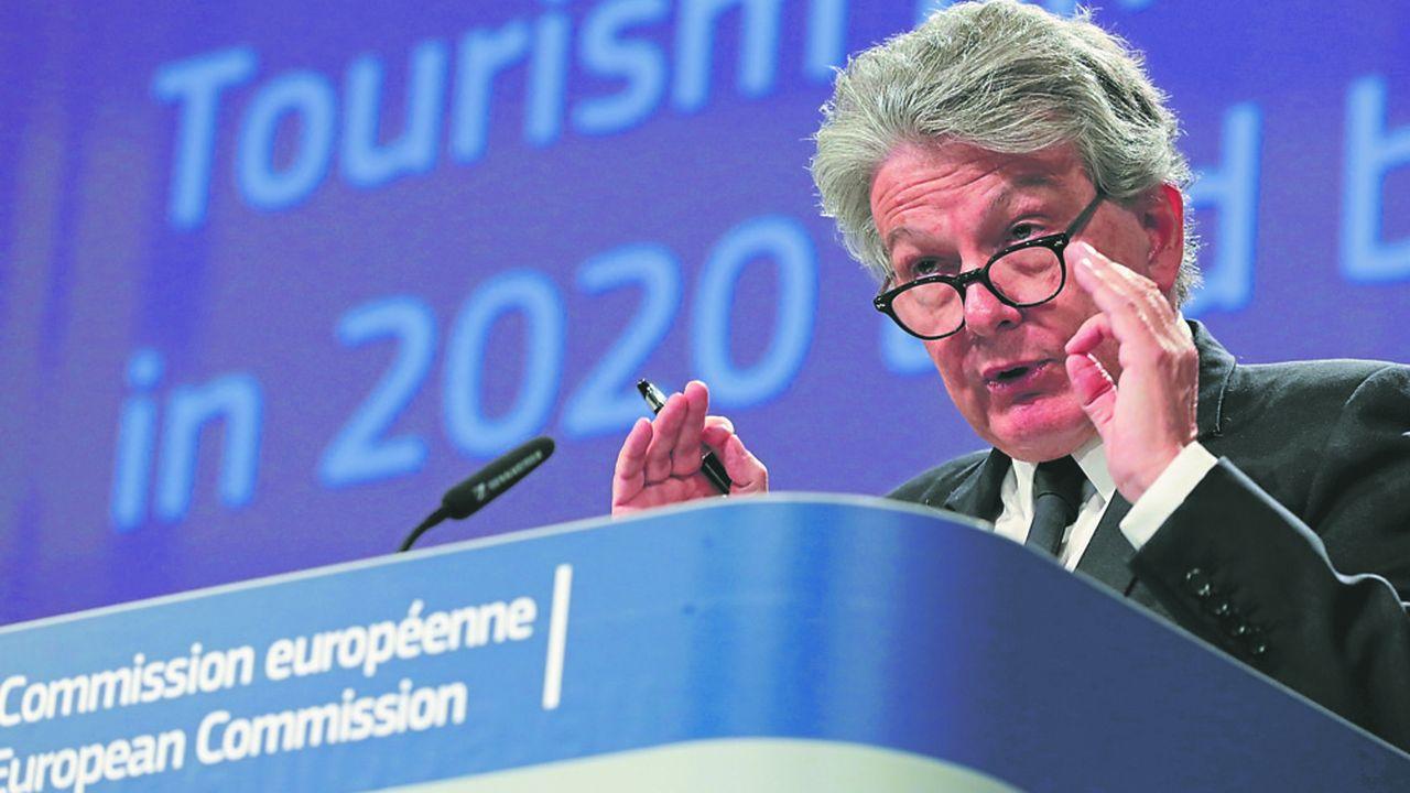 Le commissaire au marché intérieur, Thierry Breton, milite pour que le secteur du tourisme bénéficie de fonds massifs dans le cadre du futur plan de relance de l'économie européenne.