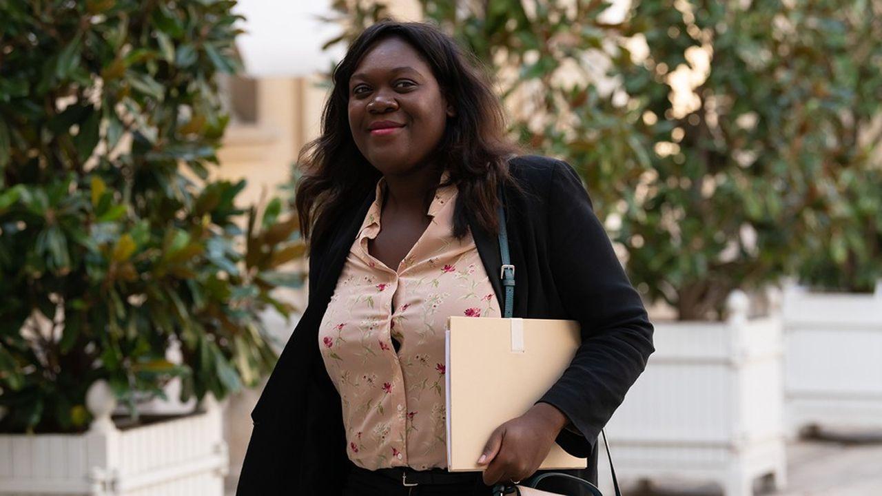 La députée LREM Laëtitia Avia, qui porte la proposition de loi sur la haine en ligne.