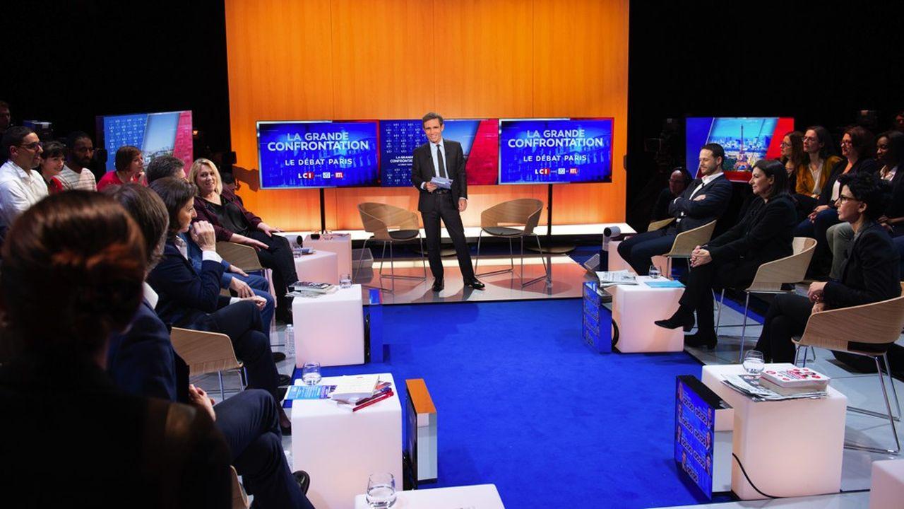 «La Grande Confrontation» sur LCI, un carrefour stratégique d'audience sur LCI.