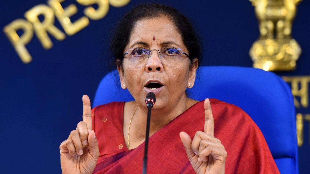 La ministre des Finances indienne, Nirmala Sitharaman