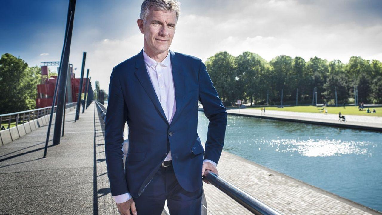 Didier Fusillier, à la tête de l'établissement public de La Villette