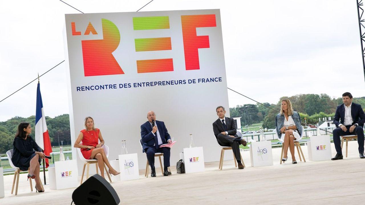 La REF, ex-université d'été du Medef est toujours programmée fin août.
