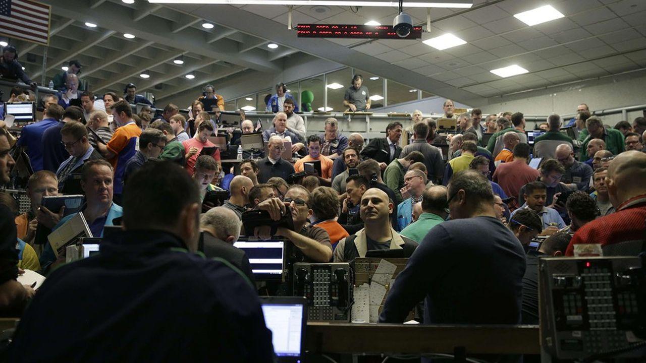 Les traders du Chicago Board Options Exchange (CBOE) attendent avec appréhension la réouverture de la «criée»