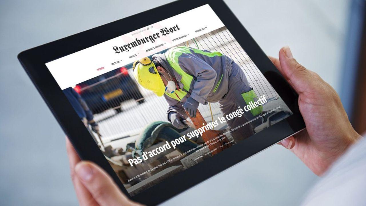 TNS Ilres Multimédia évalue l'audience du «Wort» à 302.000lecteurs, en incluant le site trilingue allemand-anglais-français du quotidien.