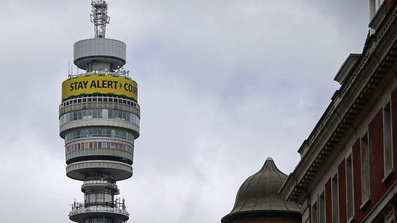 Le géant britannique BT est au plus bas en Bourse depuis 10 ans