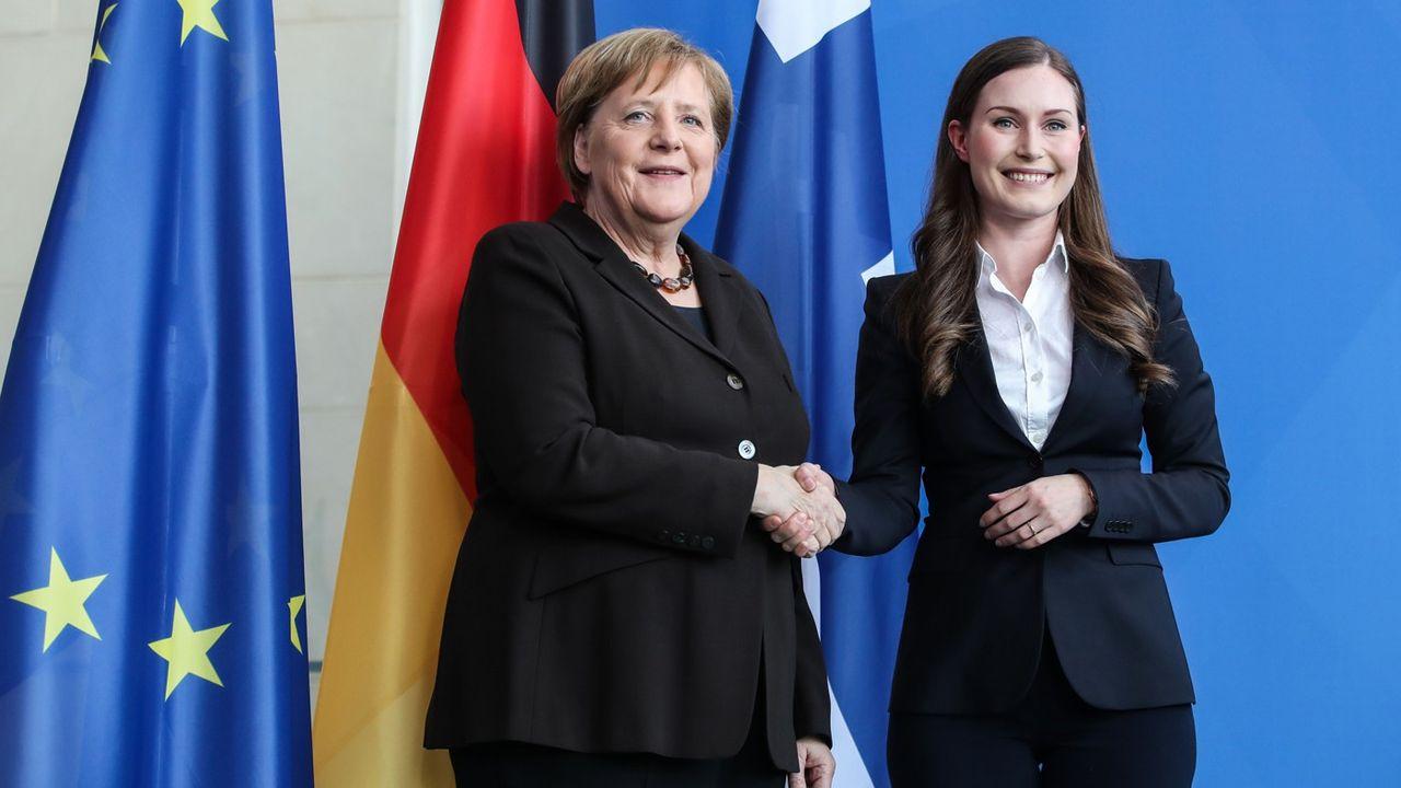 GERMANY-BERLIN-FINLAND-PM-VISIT