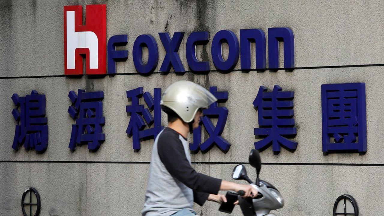 Foxconn n'avait plus enregistré de profits aussi faibles depuis… le premier trimestre 2000, il y a vingt ans.