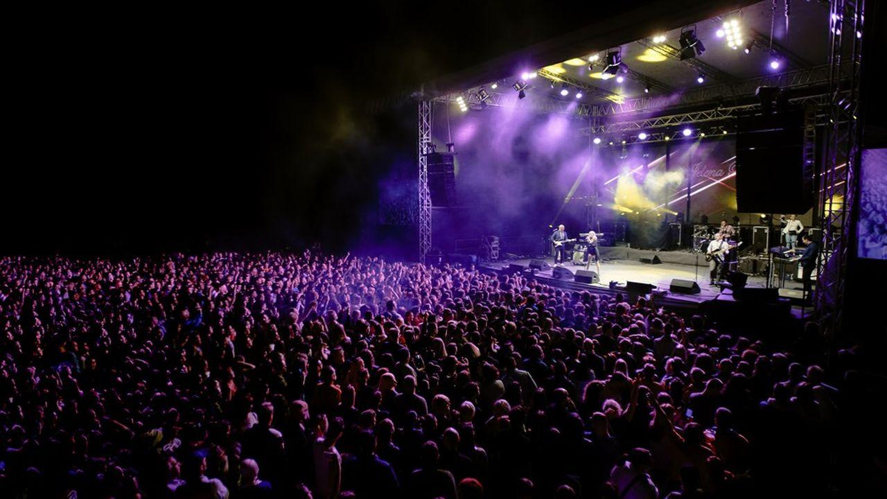 Au Royaume-Uni, 4,9millions de personnes ont assisté à un festival en 2018.