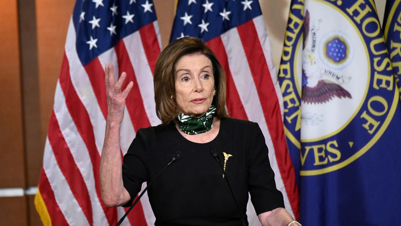 Vendredi, la Chambre des Représentants a voté le texte présenté par la leader démocrate Nancy Pelosi.