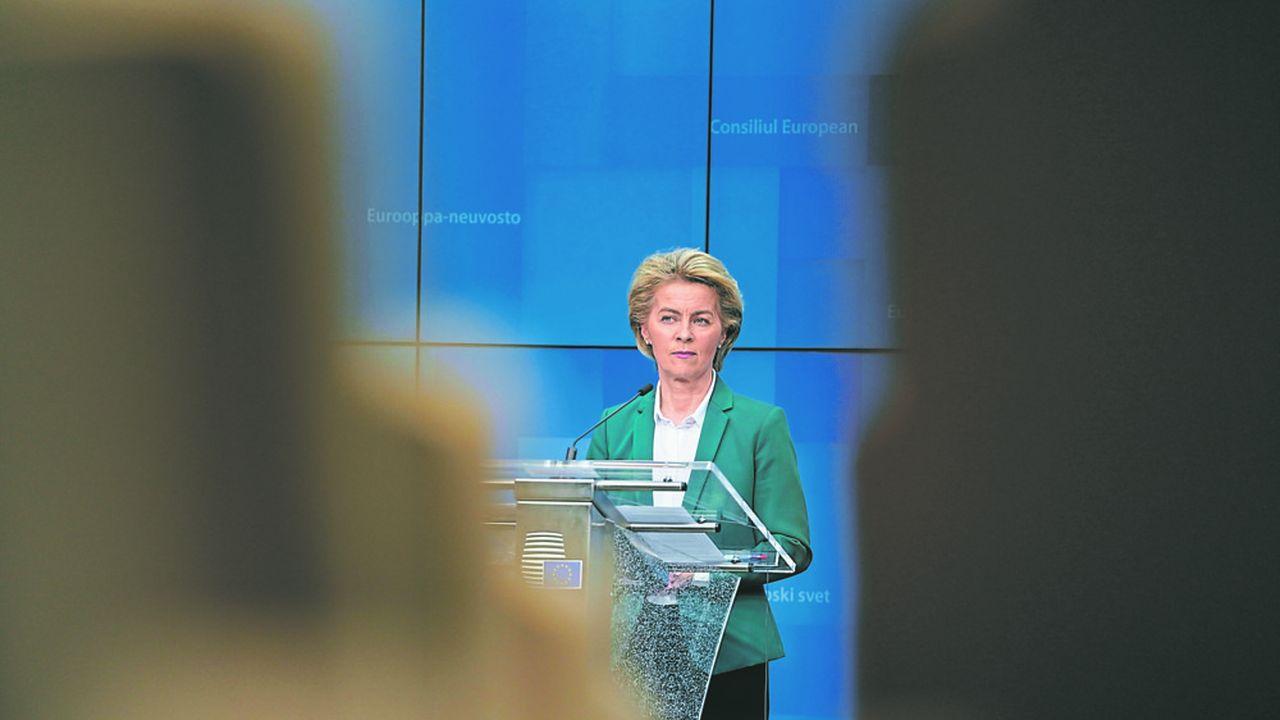 La présidente de la Commission européenne, Ursula von der Leyen, doit faire une proposition capable de servir de base de négociation pour les Vingt-Sept.