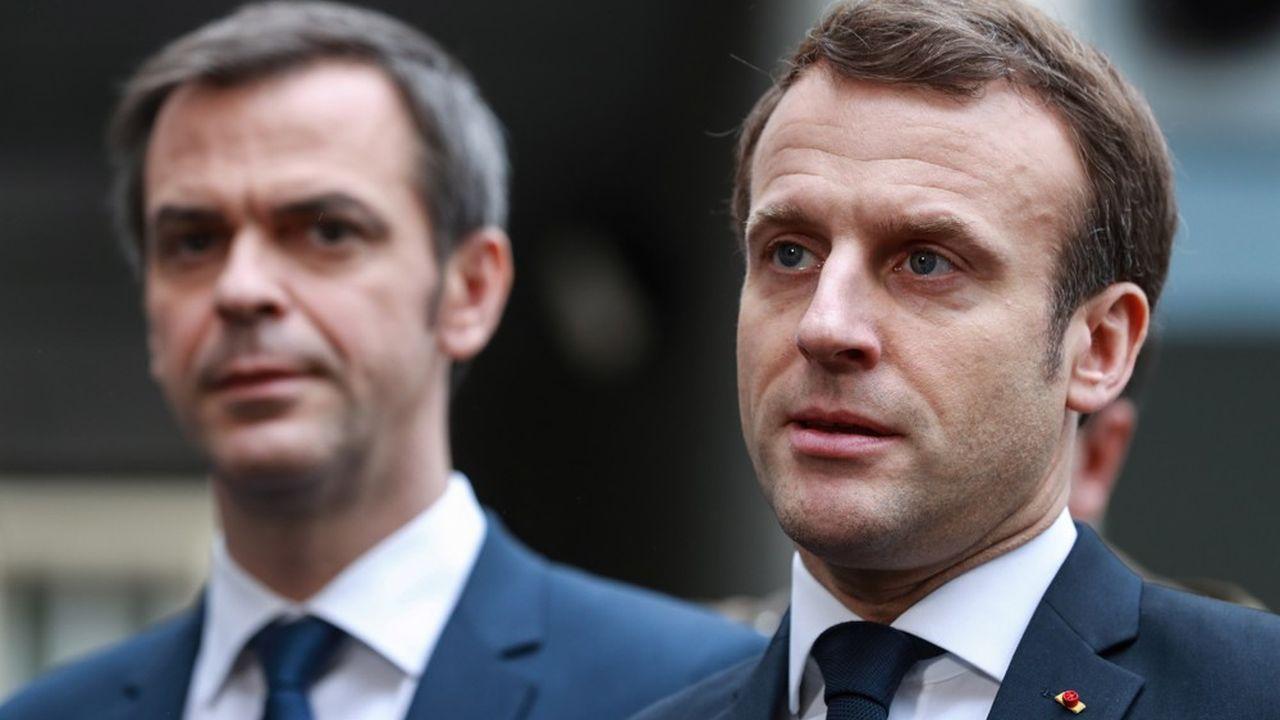 Olivier Véran (à g.) a commencé à discuter des revalorisations des fonctionnaires hospitaliers tout de suite après l'annonce de l'ouverture d'un «Ségur de la santé» par Emmanuel Macron.
