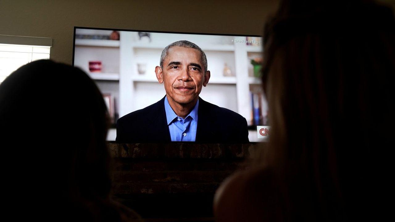 Barack Obama a livré un discours aux accents politiques, dans un message diffusé auprès des diplômés du réseau des universités historiquement noires (HBCU).