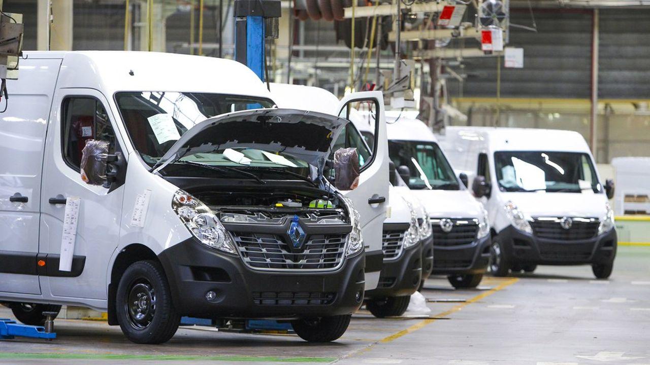 A l'usine Sovab-Renault de Meurthe et-Moselle, le travail de nuit doit reprendre lundi, à 21 heures, après de longues semaines d'arrêt.