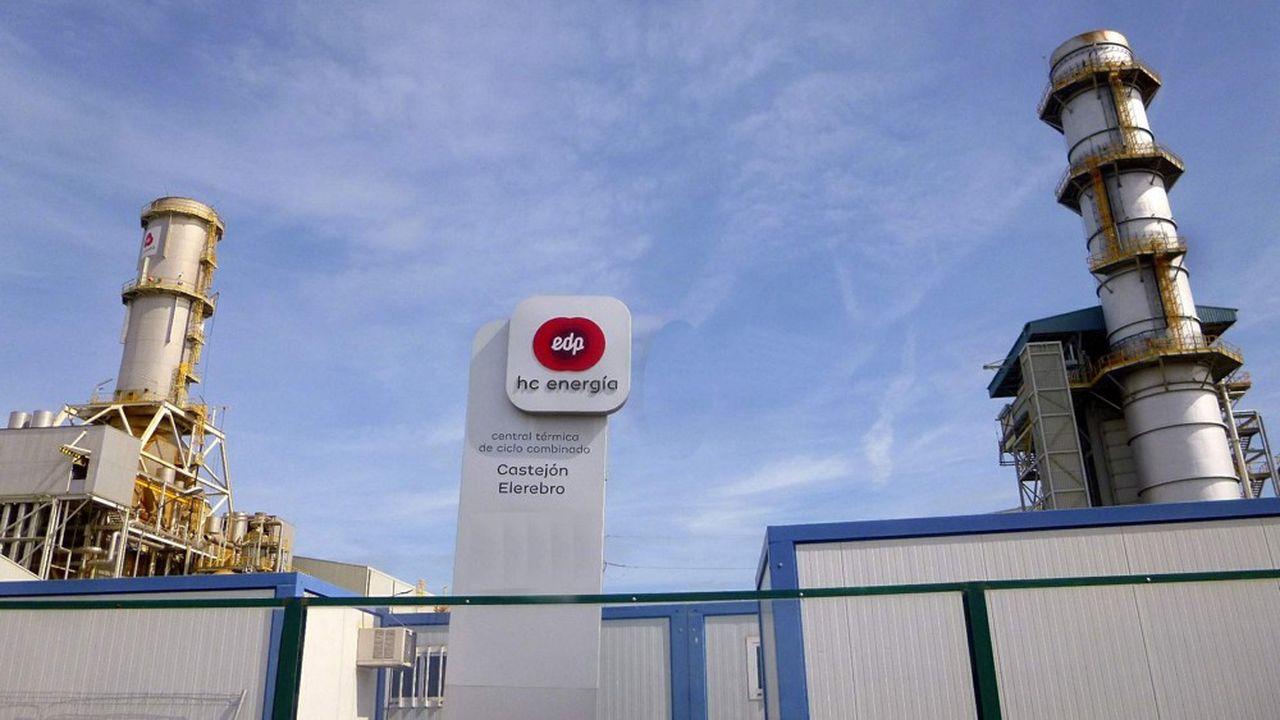 La centrale électrique à gaz espagnole de Castejon, que Total reprend à EDP. Patrick Pouyanné, le PDG du groupe français, est persuadé que les centrales à gaz seront un complément indispensable aux renouvelables, qui ne fonctionnent pas 24heures sur 24.