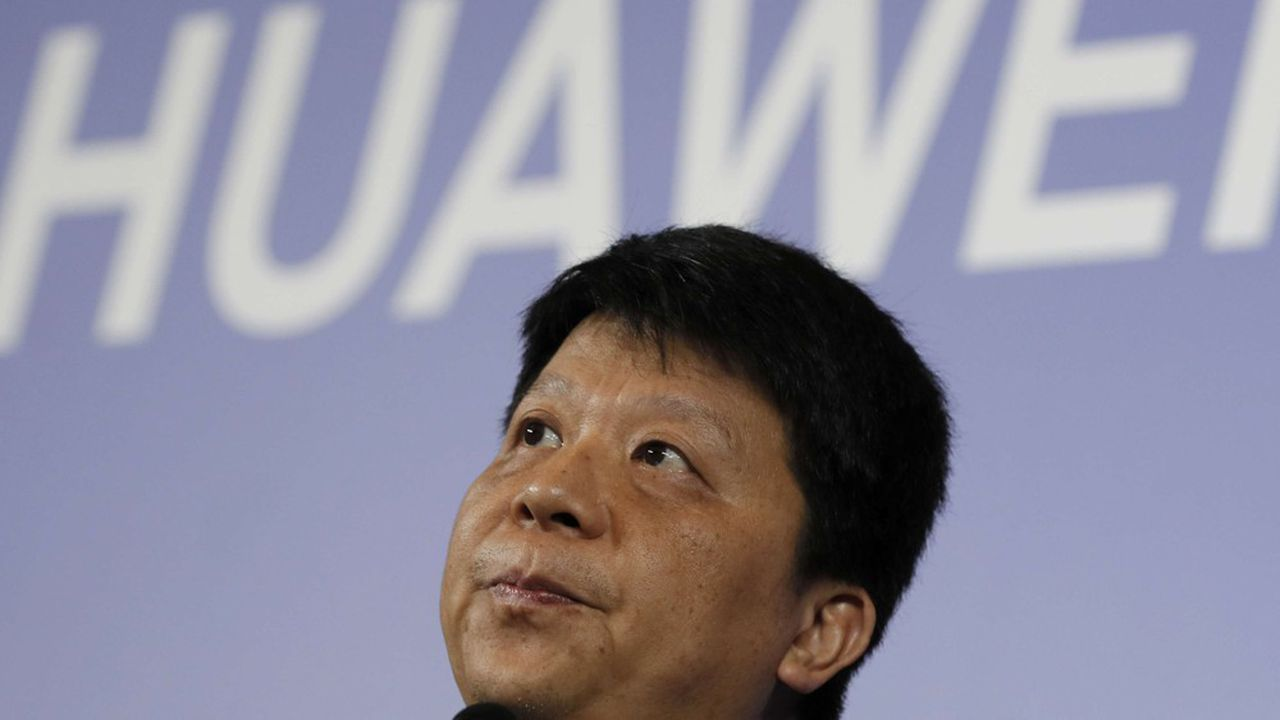 Guo Ping, l'un des trois PDG tournants de Huawei.