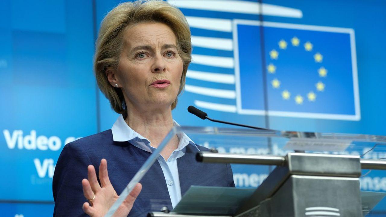 La présidente de la Commission européenne, Ursula von der Leyen, devra tenir compte des propositions franco-allemandes dans le plan qui doit être présenté le 27mai prochain.