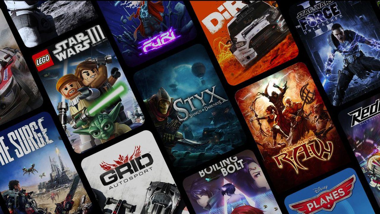 Gamestream travaille avec une quinzaine d'éditeurs de jeux vidéo et propose 200titres via ses partenaires.
