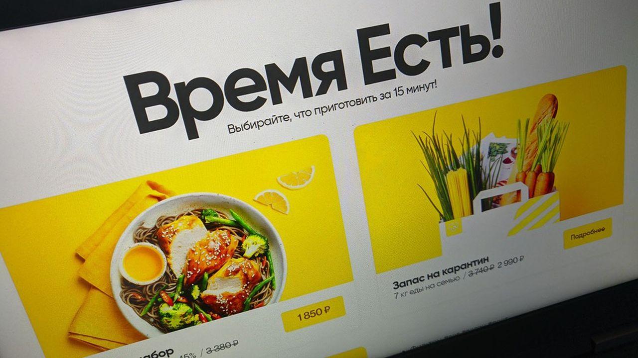 La taille du marché des kits de repas devrait atteindre 1milliard de dollars au cours des cinq à septprochaines années en Russie estime Elementaree.