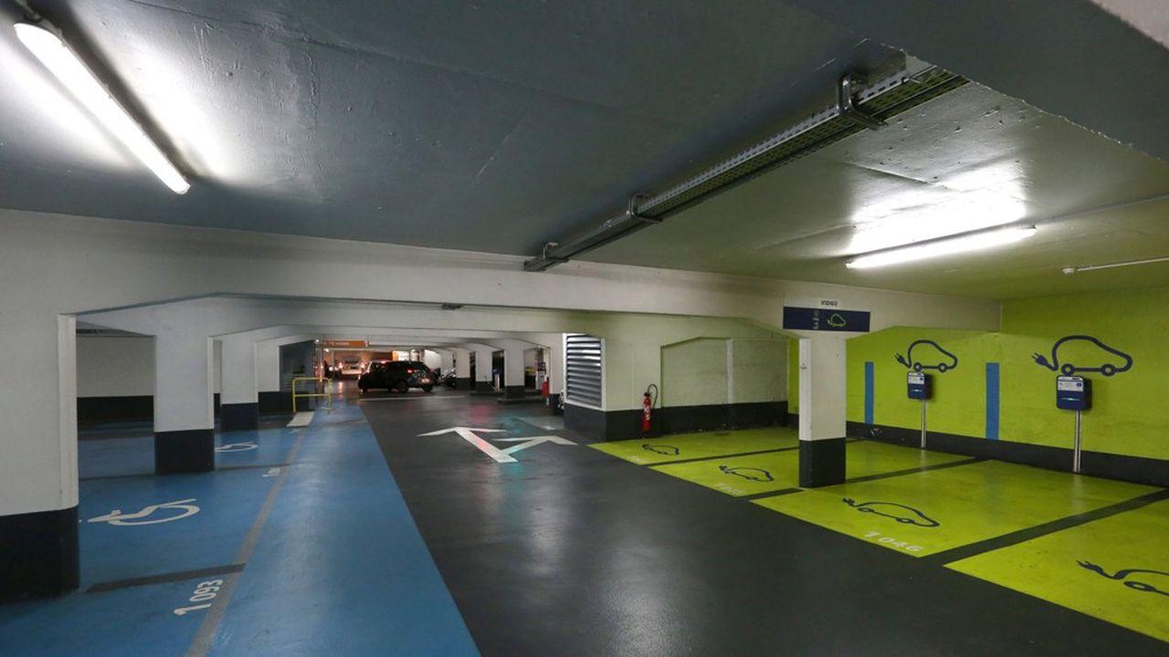 Les parkings souterrains ont été désertés pendant toute la période de confinement, notamment en raison de la gratuité du stationnement en voirie, partout en France.