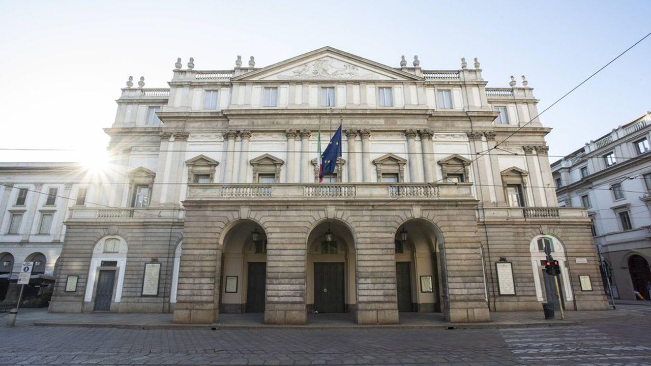 Dominique Meyer a pris la direction du prestigieux théâtre milanais le 1ermars, en pleine épidémie de Covid-19.
