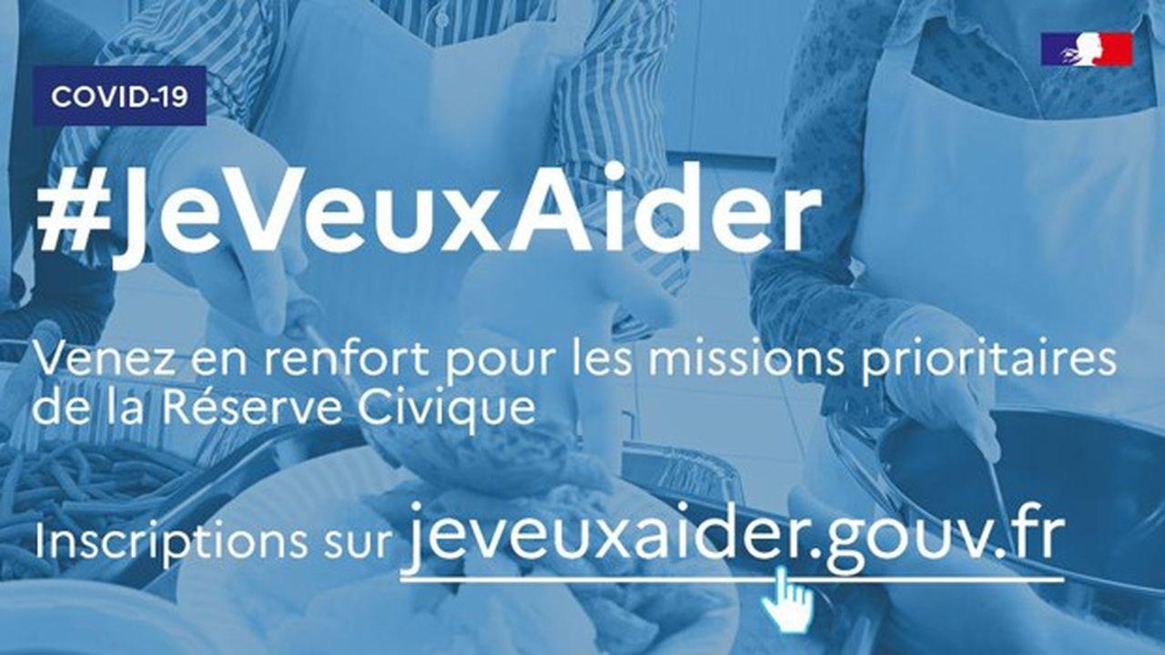 Les habitants du Val-de-Marne peuvent s'inscrire sur la plateforme numérique de la Réserve civique lancée par le Gouvernement