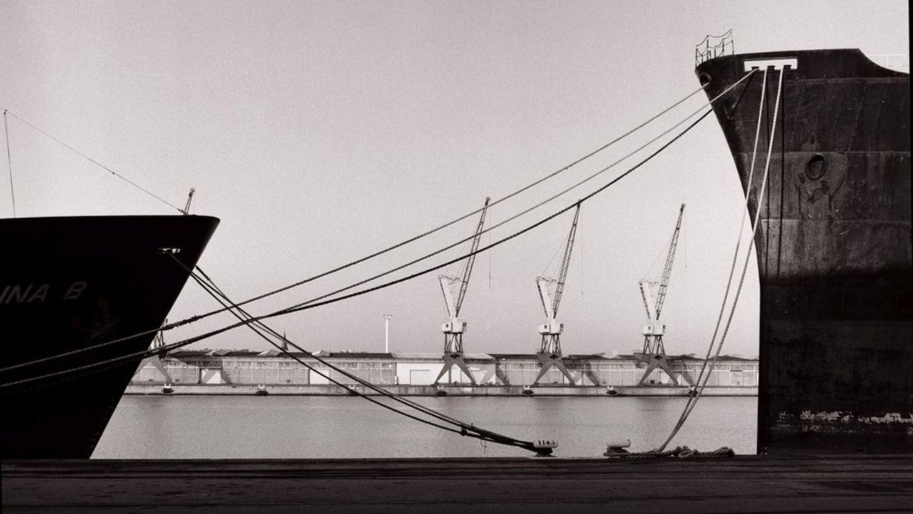 Port du Havre. Les quais.