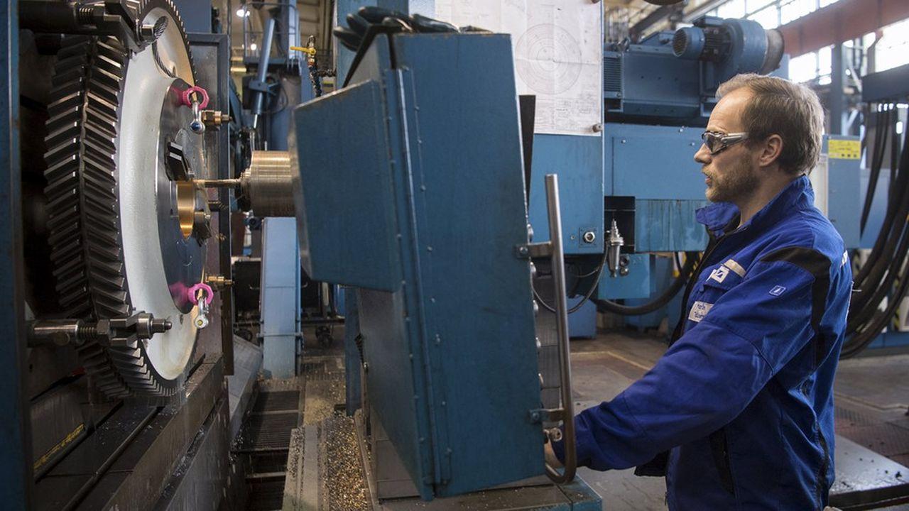 Fabrication de machines-outils. L'industrie française garde un souvenir cuisant de la crise de 2008. Les destructions d'emplois avaient obéré les capacités de rebond du secteur.