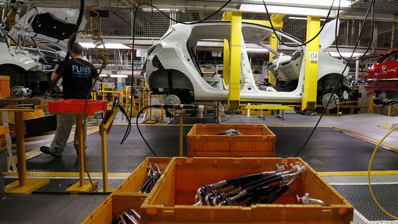 L'usine de Renault à FLins (Yvelines) emploie aujourd'hui 2.600 salariés.
