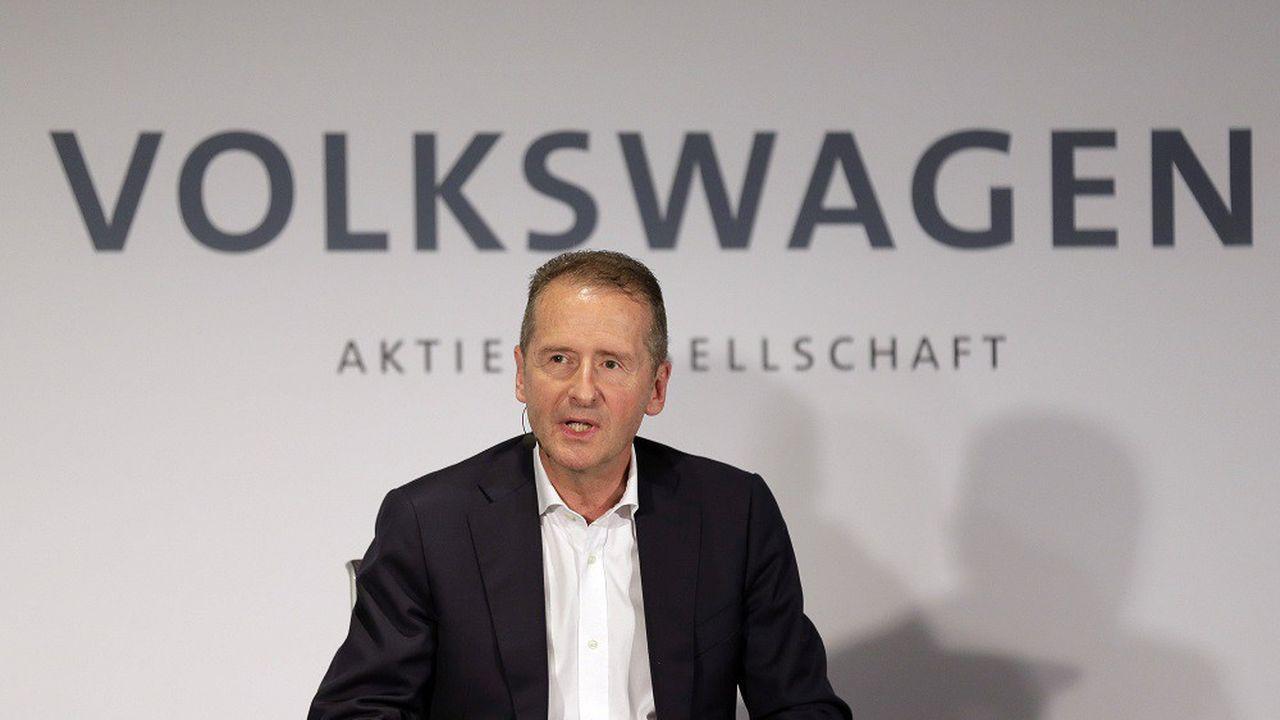 Un accord a mis fin aux poursuites contre Herbert Diess (photo) et Hans Pieter Pötsch.