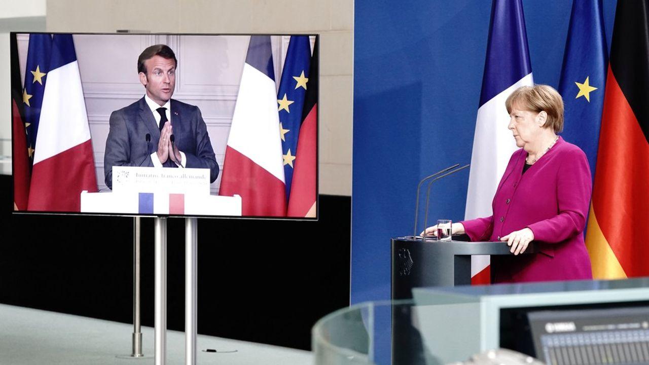 L'annonce, lundi, d'un projet d'émission de dette européenne par Angela Merkel et Emmanuel Macron a fait l'effet d'un coup de tonnerre.