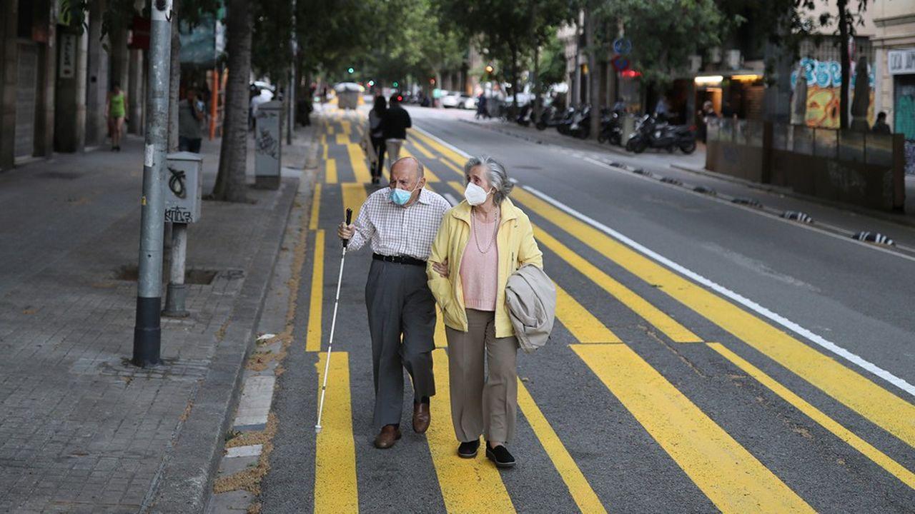 Les usagers des transports publics espagnols étaient déjà obligés de porter un masque depuis le 4mai.