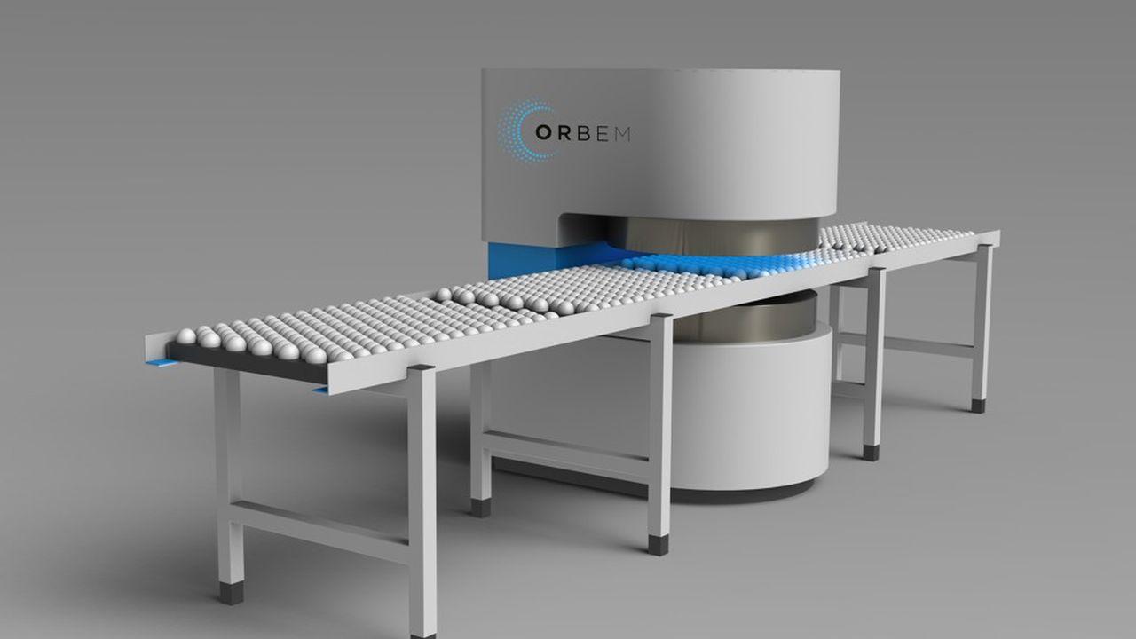 La deep tech allemande Orbem utilise l'IRM et l'intelligence artificielle pour identifier le futur sexe des poussins dans les oeufs.